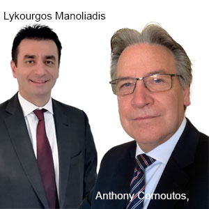 Lykourgos Manoliadis, Deputy General Manager and Anthony Cornoutos, Managing Director, DIAKINISIS