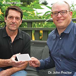 Robert Wicke, CEO & Dr. John Proctor, VP of marketing, Halo Labs
