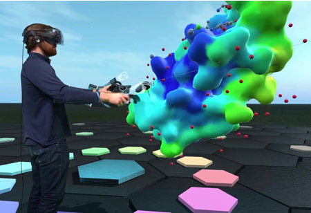 Digging Deep into Drug Discovery using Virtual Reality