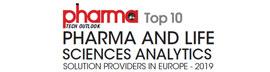 Top 10 Pharma and Life Sciences Analytics Companies in Europe - 2019